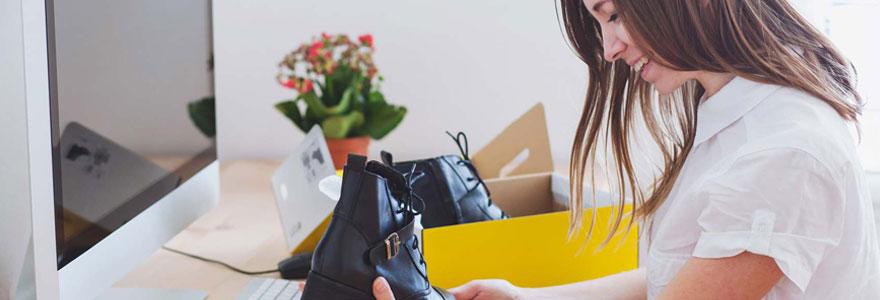 Acheter des chaussures de qualité en ligne sans de déplacer