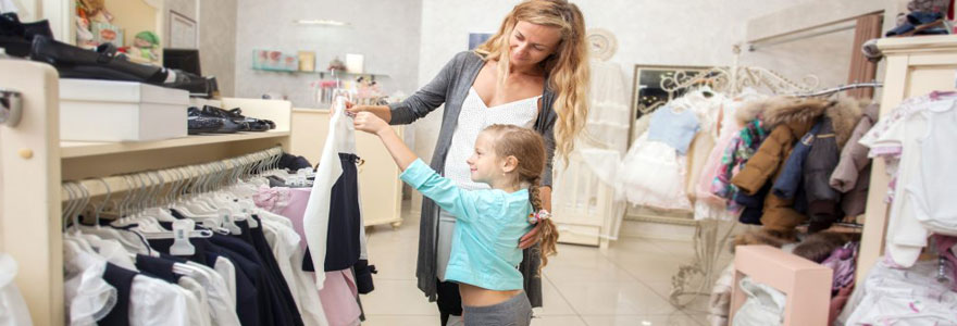 Habiller sa fille avec un style tendance et original