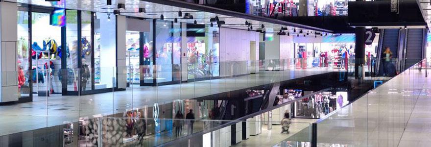 Shopping et centres commerciaux à Nice