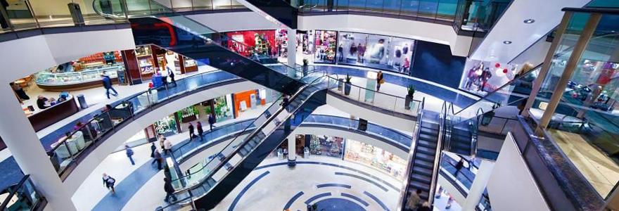 Trouver un centre commercial