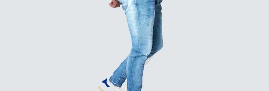 jean slim pour homme